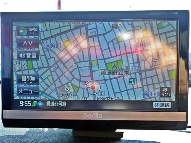 スバル レガシィツーリングワゴン 2.0GTスペックB ポータブルナビTVプロドライブ18AW