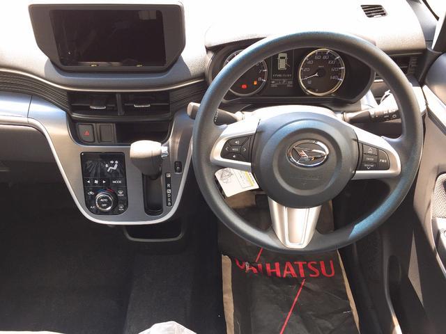 ダイハツ ムーヴ カスタム X 届出済軽未使用車 スマートキー LED 保証付