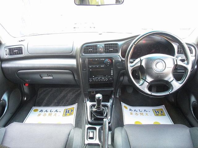 スバル レガシィツーリングワゴン GT-B E-tuneII 5MT RAYS17AW D記録