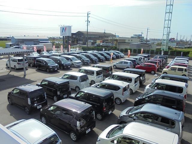 軽自動車・ミニバンに加え人気のハイブリッドカー、コンパクトカーを登録済み未使用車から厳選中古車まで、常時150台以上のバラエティ豊かな在庫を準備しております☆★