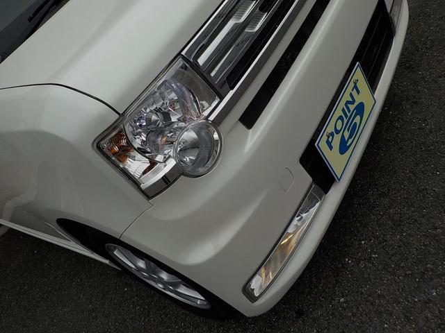 カスタム G 社外HDDナビフルセグTV CD DVD MSV ETC スマートキー HID 純正14インチアルミ タイミングチェーン車(19枚目)