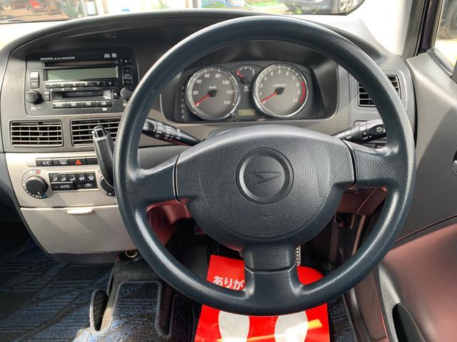 カスタム X キーレス 衝突安全ボディ ABS ベンチシート フルフラット 電格ミラー CD アルミホイール(19枚目)