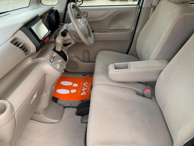 G スマートキー アイドリングストップ ABS ESC エアバック パワステ PW 電格ミラー 衝突安全ボディ 盗難防止 ナビ ワンセグ CD ベンチシート 両側スライドドア(50枚目)