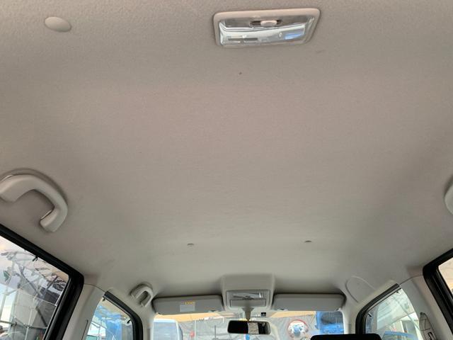 X スマートキー プッシュスタート Tチェーン 衝突安全ボディ 盗難防止 ABS パワステ PW エアコン エアB 電格ミラー HID フォグランプ CD ETC ベンチシート フルフラット 社外アルミ(45枚目)