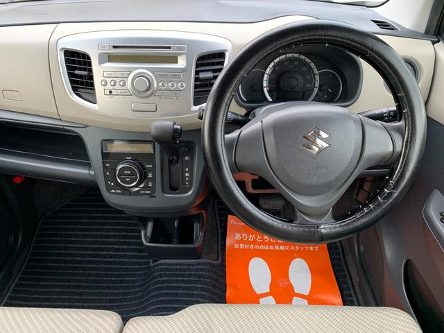 FX キーレス Tチェーン アイドリングストップ CVT ABS パワステ エアバック エアコン PW 電格ミラー 盗難防止 衝突安全ボディ CD ベンチシート フルフラット(20枚目)