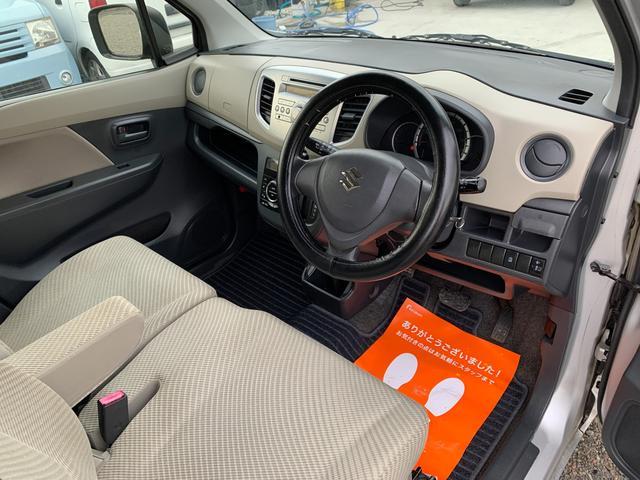 FX キーレス Tチェーン アイドリングストップ CVT ABS パワステ エアバック エアコン PW 電格ミラー 盗難防止 衝突安全ボディ CD ベンチシート フルフラット(26枚目)