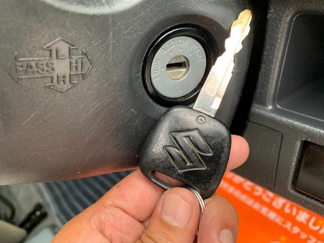 FX キーレス Tチェーン アイドリングストップ CVT ABS パワステ エアバック エアコン PW 電格ミラー 盗難防止 衝突安全ボディ CD ベンチシート フルフラット(31枚目)