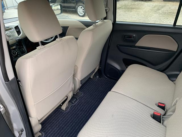 FX キーレス Tチェーン アイドリングストップ CVT ABS パワステ エアバック エアコン PW 電格ミラー 盗難防止 衝突安全ボディ CD ベンチシート フルフラット(44枚目)