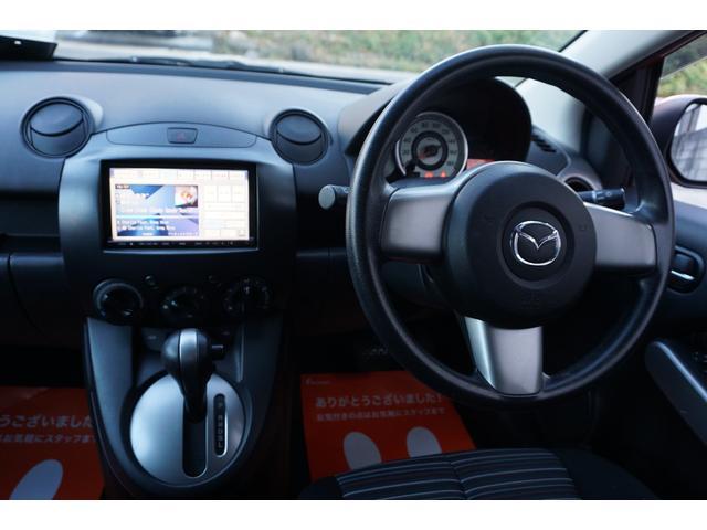 マツダ デミオ 13C 買取車1オーナー純正HDDナビETCオートライト