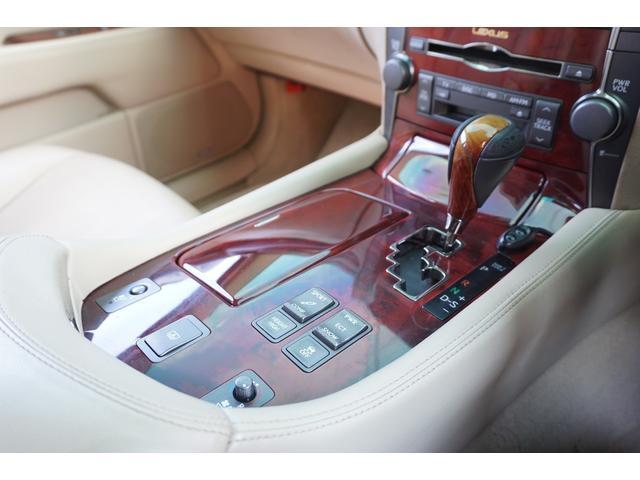 レクサス LS LS460 バージョンS サンルーフ本革サスコン社外22AW