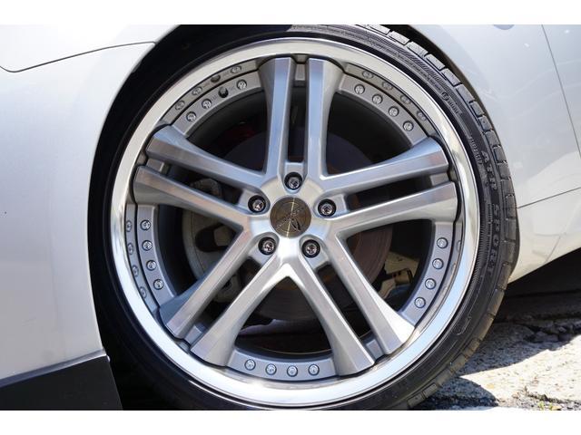 日産 スカイライン 370GT タイプP 車高調20AWカーボンリップ純正ナビ