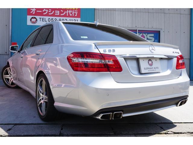 E63 AMG 買取車黒革シート専用スポイラー純正HDDナビ(4枚目)