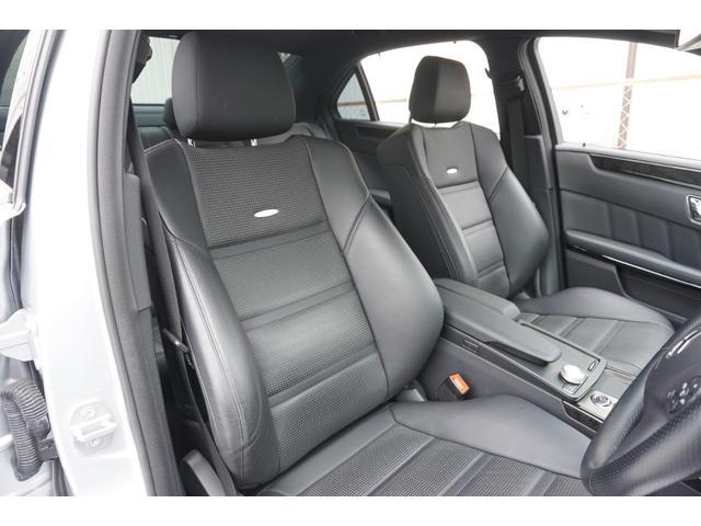 E63 AMG 買取車黒革シート専用スポイラー純正HDDナビ(7枚目)