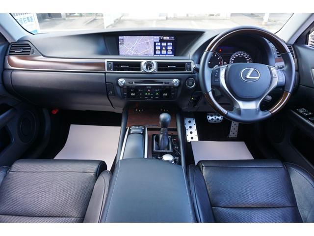 GS350 バージョンL サンルーフ Fスポーツ専用グリル HKS車高調 セミアニリン本革パワーシート シートエアコン&ヒーター 純正12.3型HDDナビ バックカメラ 電子制御パーキングブレーキ クルーズコントロール ETC(2枚目)