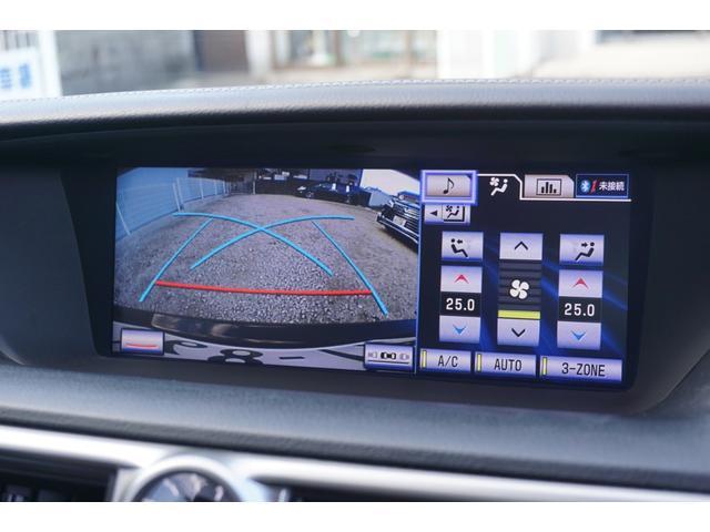 GS350 バージョンL サンルーフ Fスポーツ専用グリル HKS車高調 セミアニリン本革パワーシート シートエアコン&ヒーター 純正12.3型HDDナビ バックカメラ 電子制御パーキングブレーキ クルーズコントロール ETC(3枚目)