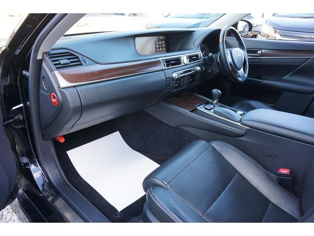 GS350 バージョンL サンルーフ Fスポーツ専用グリル HKS車高調 セミアニリン本革パワーシート シートエアコン&ヒーター 純正12.3型HDDナビ バックカメラ 電子制御パーキングブレーキ クルーズコントロール ETC(11枚目)