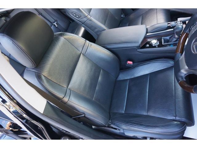 GS350 バージョンL サンルーフ Fスポーツ専用グリル HKS車高調 セミアニリン本革パワーシート シートエアコン&ヒーター 純正12.3型HDDナビ バックカメラ 電子制御パーキングブレーキ クルーズコントロール ETC(52枚目)