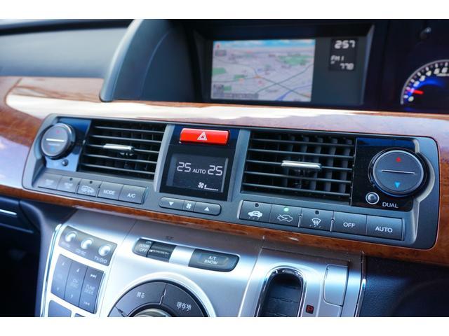 SG HDDナビスペシャルパッケージ 純正HDDナビ バックカメラ 黒半革シート 本革巻きステアリングホイール クルーズコントロール 両側電動スライド VENERDi19インチAW TEIN車高調 キセノンヘッドライト ビルトインETC(46枚目)