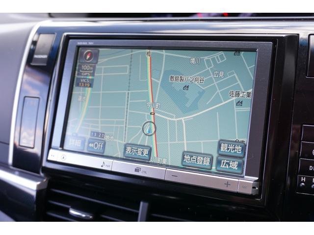 アエラス ワンオーナー車両 純正8型HDDナビ バックカメラ 本革巻きステアリングホイール クルーズコントロール 両側電動スライドドア モデリスタエアロ 純正18インチアルミホイール ETC(3枚目)