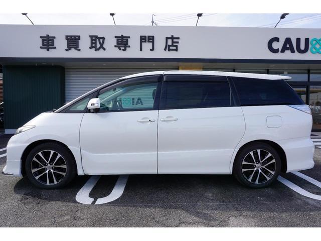 アエラス ワンオーナー車両 純正8型HDDナビ バックカメラ 本革巻きステアリングホイール クルーズコントロール 両側電動スライドドア モデリスタエアロ 純正18インチアルミホイール ETC(15枚目)