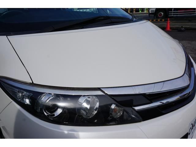 アエラス ワンオーナー車両 純正8型HDDナビ バックカメラ 本革巻きステアリングホイール クルーズコントロール 両側電動スライドドア モデリスタエアロ 純正18インチアルミホイール ETC(22枚目)