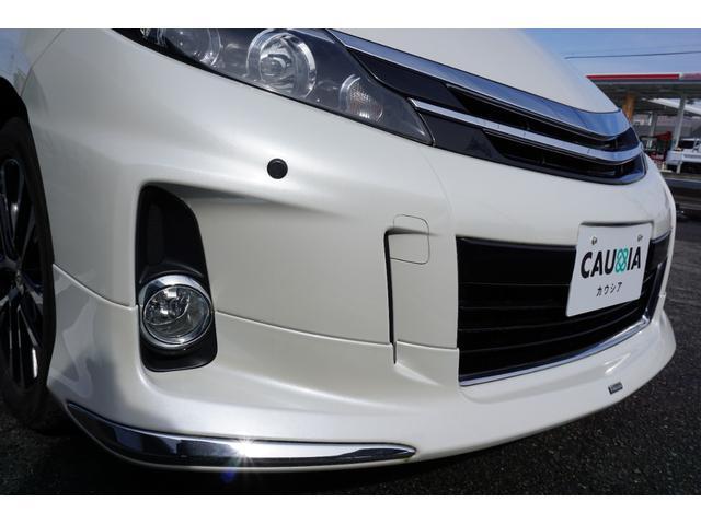 アエラス ワンオーナー車両 純正8型HDDナビ バックカメラ 本革巻きステアリングホイール クルーズコントロール 両側電動スライドドア モデリスタエアロ 純正18インチアルミホイール ETC(24枚目)