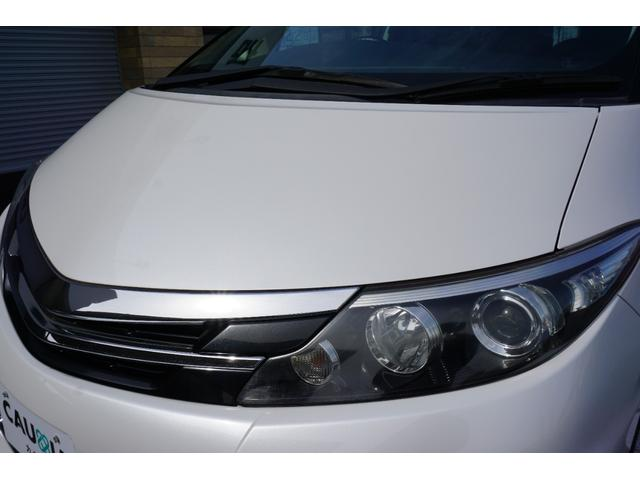 アエラス ワンオーナー車両 純正8型HDDナビ バックカメラ 本革巻きステアリングホイール クルーズコントロール 両側電動スライドドア モデリスタエアロ 純正18インチアルミホイール ETC(26枚目)