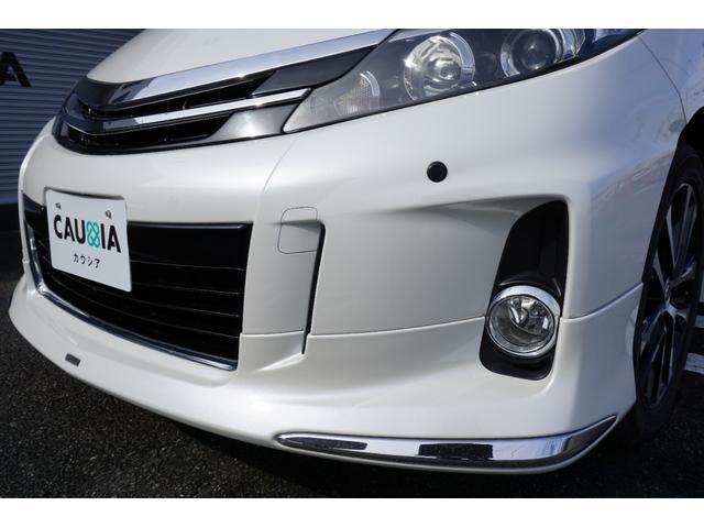 アエラス ワンオーナー車両 純正8型HDDナビ バックカメラ 本革巻きステアリングホイール クルーズコントロール 両側電動スライドドア モデリスタエアロ 純正18インチアルミホイール ETC(28枚目)