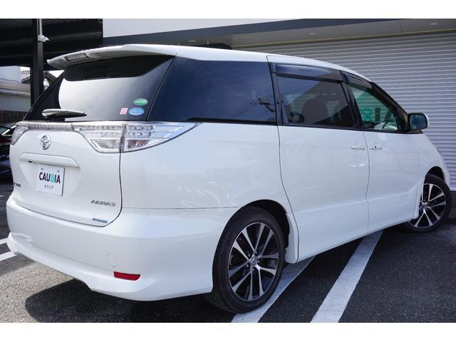 アエラス ワンオーナー車両 純正8型HDDナビ バックカメラ 本革巻きステアリングホイール クルーズコントロール 両側電動スライドドア モデリスタエアロ 純正18インチアルミホイール ETC(37枚目)