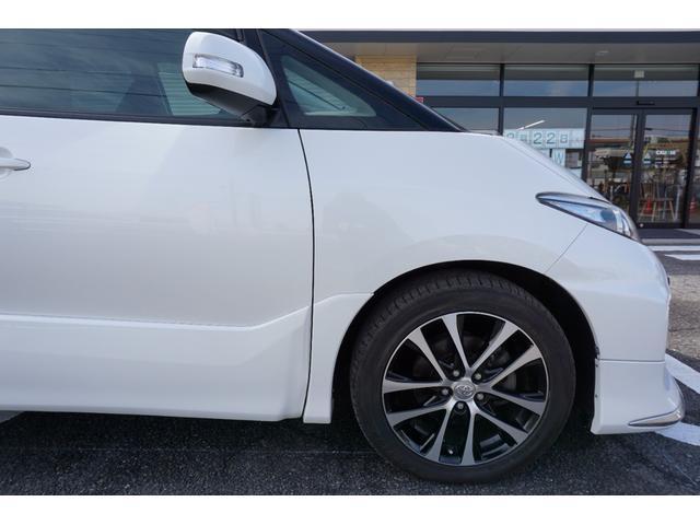 アエラス ワンオーナー車両 純正8型HDDナビ バックカメラ 本革巻きステアリングホイール クルーズコントロール 両側電動スライドドア モデリスタエアロ 純正18インチアルミホイール ETC(63枚目)