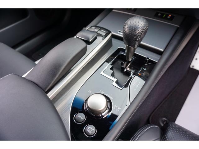 GS450h Fスポーツ マークレビンソンサウンド 専用本革シート&ステアリング&フロントリアバンパー&スピンドルグリル&19インチAW&サスペンション 純正12.3型HDDナビ バックカメラ シートエアコン&ヒーター ETC(9枚目)