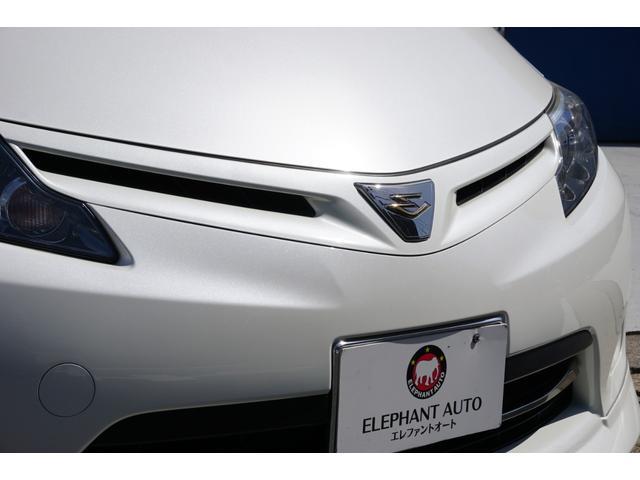 アエラス TRDフロントスポイラー RSR車高調 両側電動スライドドア WORK19インチAW carrozeriaHDDナビ バックカメラ フルセグTV ビルトインETC 床下収納シート(24枚目)
