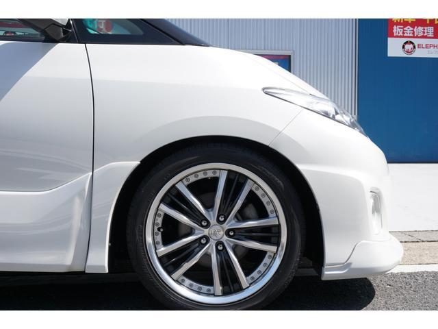 アエラス TRDフロントスポイラー RSR車高調 両側電動スライドドア WORK19インチAW carrozeriaHDDナビ バックカメラ フルセグTV ビルトインETC 床下収納シート(64枚目)