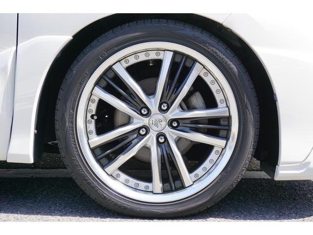 アエラス TRDフロントスポイラー RSR車高調 両側電動スライドドア WORK19インチAW carrozeriaHDDナビ バックカメラ フルセグTV ビルトインETC 床下収納シート(68枚目)