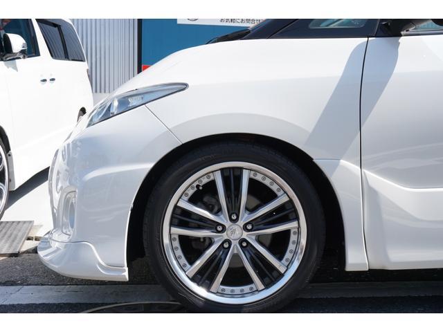 アエラス TRDフロントスポイラー RSR車高調 両側電動スライドドア WORK19インチAW carrozeriaHDDナビ バックカメラ フルセグTV ビルトインETC 床下収納シート(72枚目)