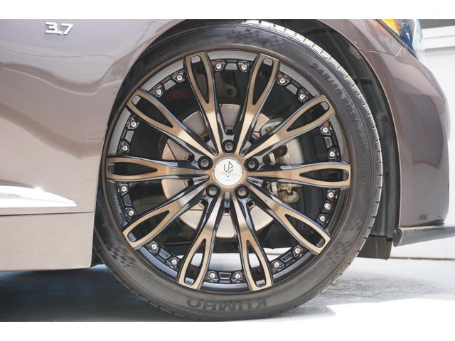 250GT Aパッケージ ワンオーナー車両 純正HDDナビ 全方位カメラ 電動シート カーボンフロントスポイラー WORK20インチAW BLITZ車高調 柿本改マフラー IMPULグリル トランクスポイラー OGSスロコン(17枚目)
