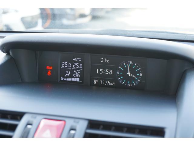 1.6GTアイサイト ムーンルーフ BLITZフロントエアロ RAYS17インチAW 社外LEDテールランプ carrozeriaメモリーナビ サイドカメラ 本革巻きステアリング レーダークルーズ 電子制御パーキング(24枚目)