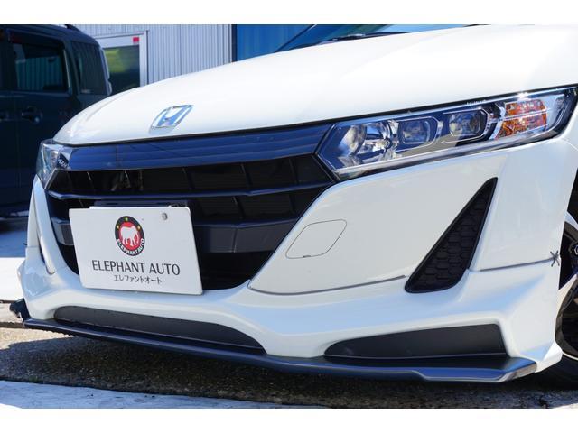 α ワンオーナー車両 ユーザー様買取車 センターディスプレイ バックカメラ ガングリップステアリング 無限エアロ ROSSOMODELLOセンター出しマフラー BLITZタワーバー LEDヘッドライト(31枚目)