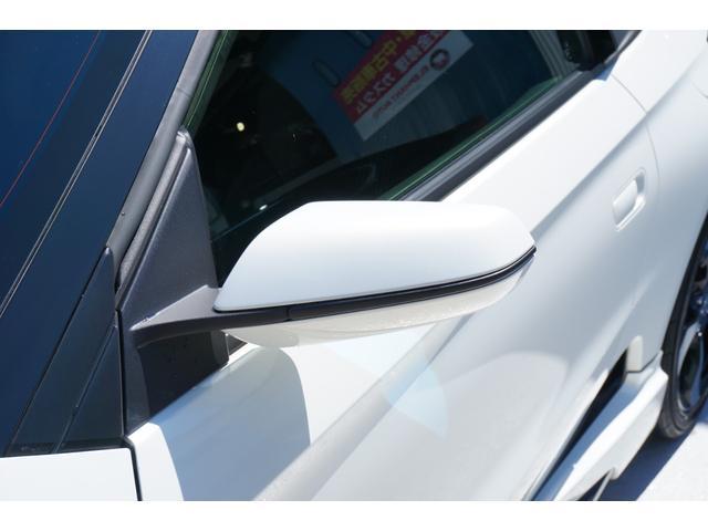 α ワンオーナー車両 ユーザー様買取車 センターディスプレイ バックカメラ ガングリップステアリング 無限エアロ ROSSOMODELLOセンター出しマフラー BLITZタワーバー LEDヘッドライト(32枚目)