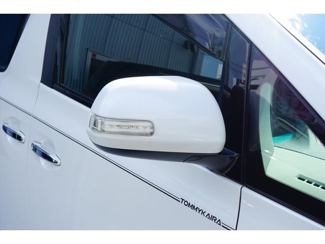 2.4Z トミーカイラフルエアロ&4本出しマフラー 新品KYOHO20インチAW&タイヤ 両側電動スライド ALPINE9型メモリーナビ バックカメラ フルセグTV 革調シートカバー ビルトインETC(26枚目)