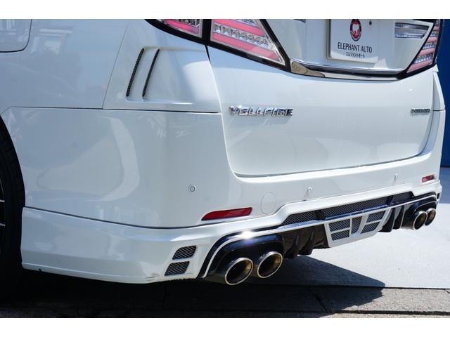 2.4Z トミーカイラフルエアロ&4本出しマフラー 新品KYOHO20インチAW&タイヤ 両側電動スライド ALPINE9型メモリーナビ バックカメラ フルセグTV 革調シートカバー ビルトインETC(36枚目)