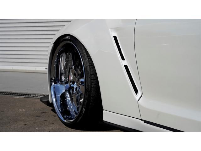 プレミアムエディション HKSGT800キット/845馬力/油圧リフタ/ワイドボディ/後期純正パールホワイト/オリジナル外装(9枚目)