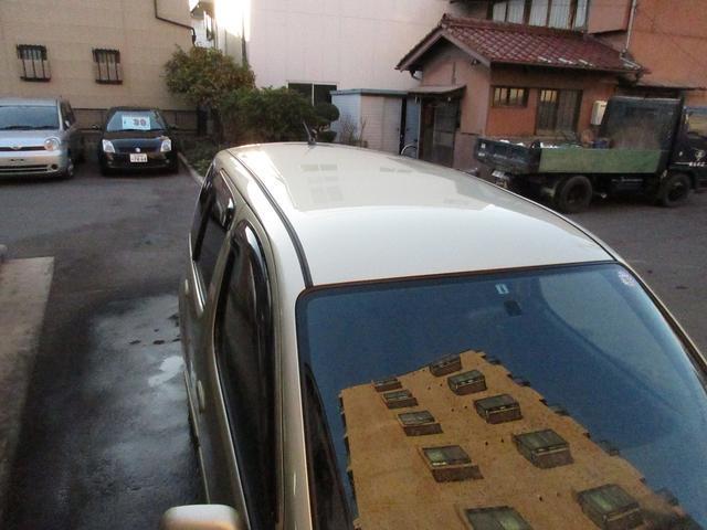 トヨタ ファンカーゴ XリヤリビングバージョンGOO鑑定1オーナー禁煙車 純正ナビ