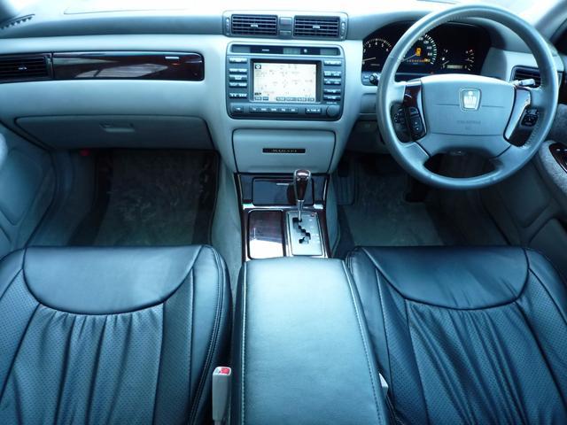 トヨタ クラウンマジェスタ 新品フルエアロ 車高調 黒革調 サンルーフ 後期
