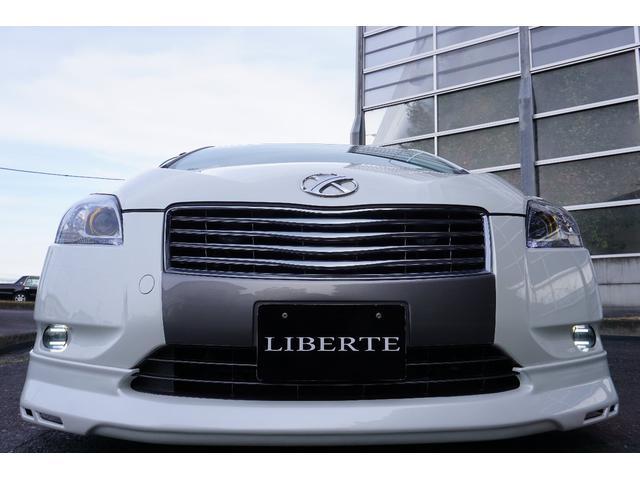 LIBERTEコンプリート フルエアロ 車高調19AW黒革調(10枚目)