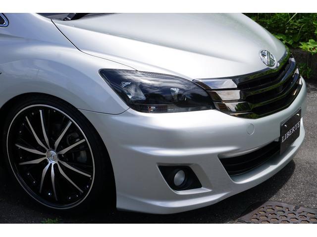 LBコンプリート フルエアロ 新品車高調 20AW 黒革調(9枚目)