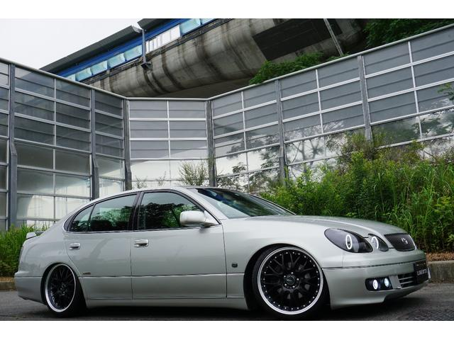LBコンプ GSルック 新品車高調19AW 黒革調 後期(4枚目)