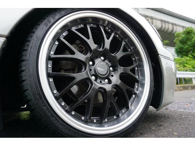 LBコンプ GSルック 新品車高調19AW 黒革調 後期(11枚目)