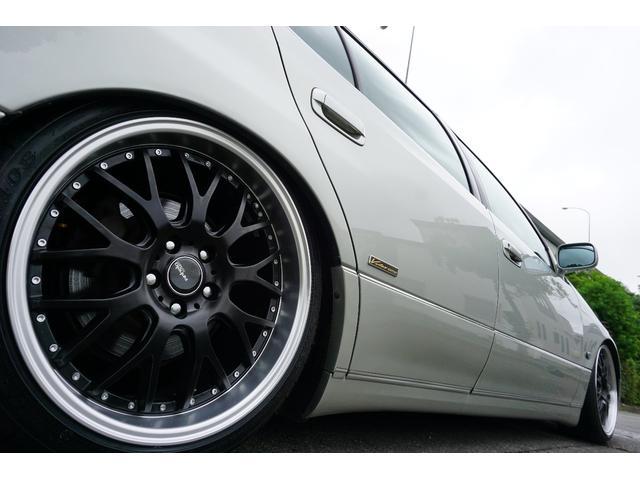 LBコンプ GSルック 新品車高調19AW 黒革調 後期(14枚目)
