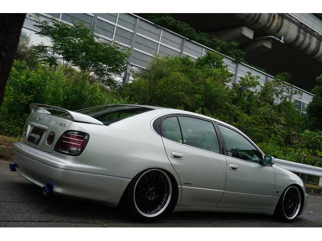 LBコンプ GSルック 新品車高調19AW 黒革調 後期(15枚目)